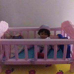 Other - Baby Doll + Crib & Accessories Bundle